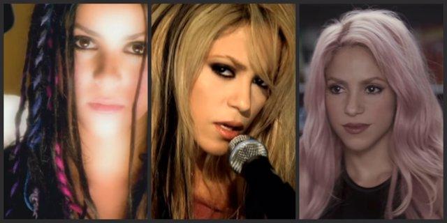 10 Éxitos De Shakira