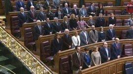 El Congreso guarda un minuto de silencio por el fallecimiento del exministro socialista José Antonio Alonso