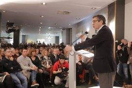 Patxi López busca voluntarios para su campaña de las primarias del PSOE