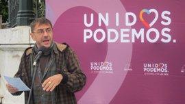 """Monedero dice que Bescansa es """"corresponsable"""", junto a Errejón e Iglesias, de la situación de Podemos"""