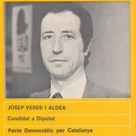 Muere Josep Verde i Aldea, cofundador del PSC y antiguo vicepresidente de la Eurocámara