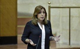 Susana Díaz: Andalucía vuelve a cumplir el déficit con un 0,68% a cierre de 2016