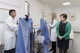 Valdecilla incorpora un dispositivo de perfusión pulmonar ex vivo para trasplantes