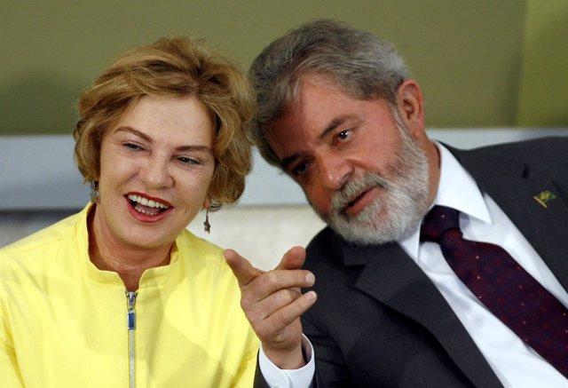 Mujer de Lula Marisa Letícia Lula