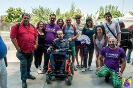 El diputado Javier Sánchez Serna y el activista José Coy, en la lista de Pablo Iglesias para Vistalegre 2