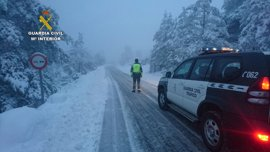 Guardia Civil realiza 720 auxilios en carretera y rescates en el temporal de nieve en Teruel