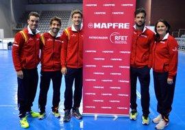 España no quiere confianzas ante una mermada Croacia en la Copa Davis