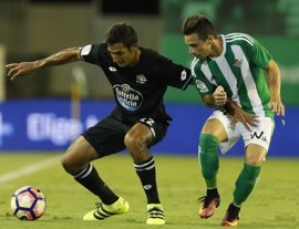 Deportivo y Betis se miden para romper sus rachas