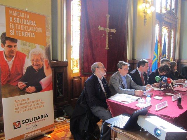 Presentación campaña 'X Solidaria'