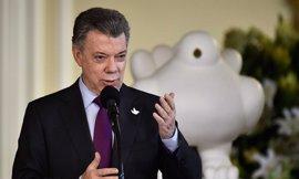 """Santos dice que la liberación de Sánchez despeja el camino para lograr la """"paz completa"""""""
