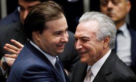Rodrigo Maia, estrecho aliado de Temer, elegido nuevo presidente de la Cámara de Diputados de Brasil