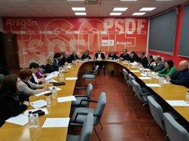 """Lambán insiste en que """"la única solución para aprobar los Presupuestos pasa por Podemos"""""""