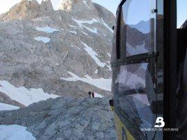 La Aemet advierte de riesgo notable de aludes en Picos de Europa