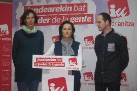 """Salud (Podemos) afirma que el """"el acercamiento clarísimo"""" entre PNV y PP está """"orientado"""" a un apoyo jeltzale a los PGE"""