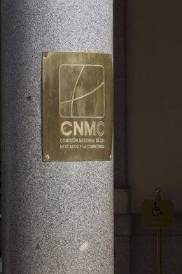 CNMC, fachada de la Comisión Nacional de los Mercados y la Competencia