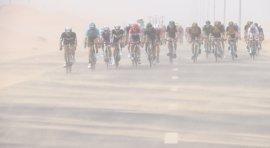Suspendida la cuarta etapa del Tour de Dubai por tormentas de arena