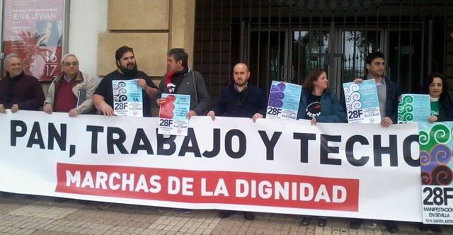 Presentación de la manifestación para el 28 de febrero de 2017