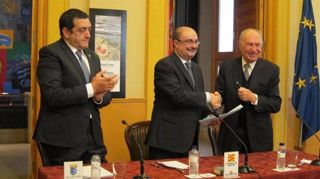 Aragón colabora con BonÁrea para un nuevo centro de producción en Épila