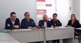 La Mesa del Tren de Almería invita a Díaz a acompañarles a Bruselas en defensa del Corredor