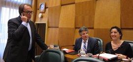"""Todos los grupos, menos el PP, piden negociar y aprobar el presupuesto de Aragón """"en el menor plazo"""""""