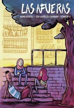Portada del cómic 'Las afueras', para combatir la islamofobia