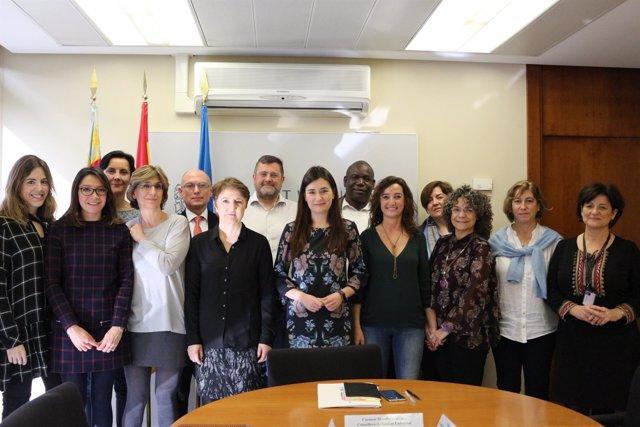 Comisión de seguimiento del protocolo contra la Mutilación Genital Inter
