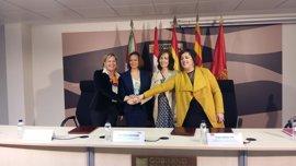 Diputación de Gipuzkoa, gobiernos de Navarra y Aragón y Departamento Pirineos Atlánticos colaboran en materia deportiva
