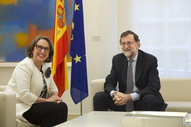 Rajoy y Grynspan