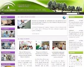 La web del Complejo Hospitalario de Jaén bate su récord de visitas en enero
