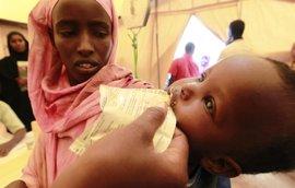 Save the Children alerta que más de 363.000 niños en Somalia sufren desnutrición por las sequías