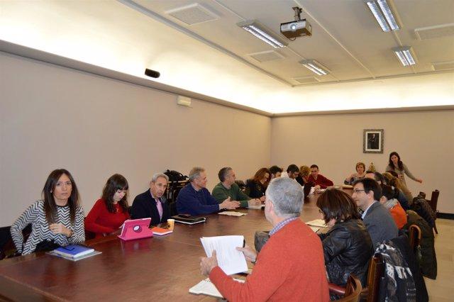 Reunión del Consejo Sectorial de Desarrollo Industrial de Huesca