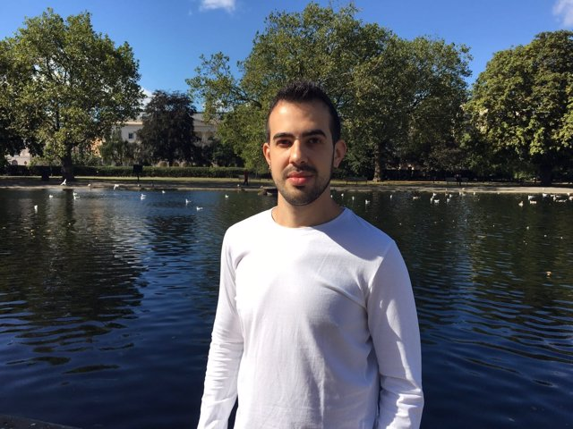 Javier García Pajares en Londres
