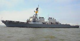 EEUU envía al destructor 'USS Cole' a patrullar la costa yemení para frenar los ataques de huthis