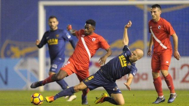 El UCAM Murcia escapa del descenso a costa de un decaído Sevilla Atlético