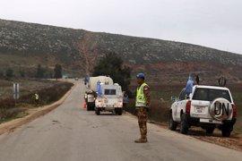 Un ataque de civiles causa daños materiales a vehículos de la misión de la ONU en Líbano