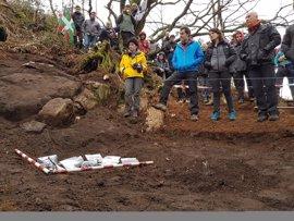 Exhumados los restos mortales de un combatiente de la Guerra Civil