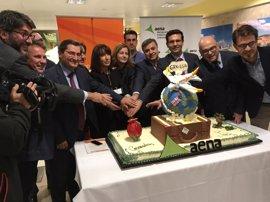 Diputación valora el incremento de turismo que supondrá la conexión aérea de Granada-Jaén con Londres