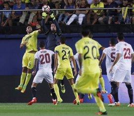 Sevilla y Villarreal pugnan por ascender en la tabla en el Sánchez-Pizjuán