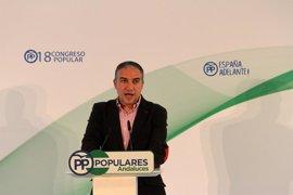 """Bendodo destaca que el PP """"antepone el debate sobre las ideas frente a la lucha de los personalismos"""""""