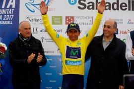 Nairo Quintana gana y asalta la general de la Volta a la Comunitat Valenciana