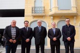 Brufau (Repsol) inaugura una nueva avenida en La Pobla de Mafumet (Tarragona)