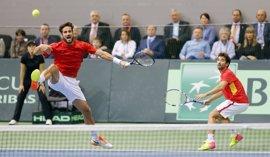 Croacia se apunta el dobles y deja a España contra las cuerdas