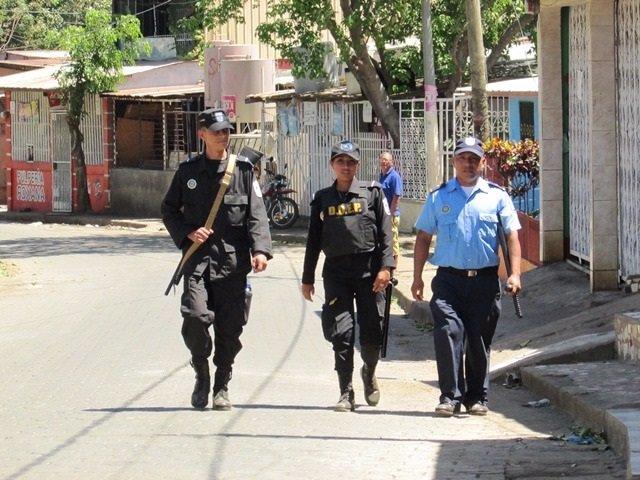 Policía Nicaragua