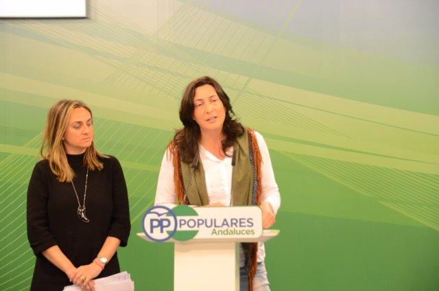 Nota, Foto Y Audio Rueda De Prensa Loles López Y Marifrán Carazo Educación