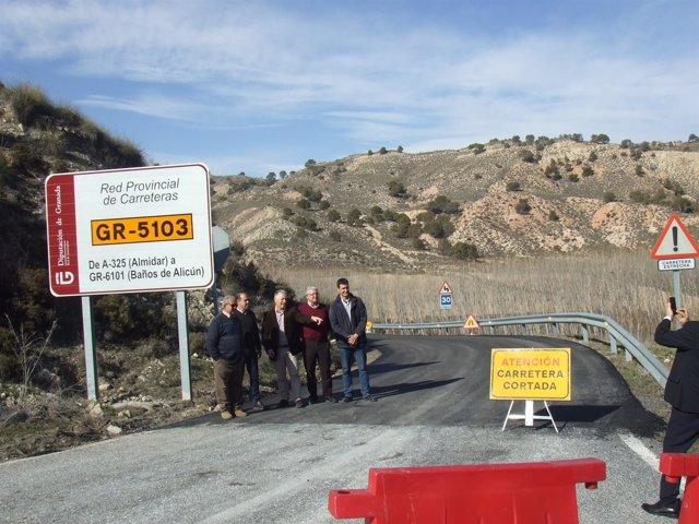 La Diputación de Granada invierte en la red provincial de carreteras