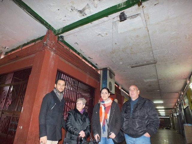 Np Y Fotos Iu Alerta Que La Reparación De La Cubierta De Los Locales Comerciales