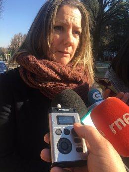 La alcaldesa de Lugo, Lara Méndez.