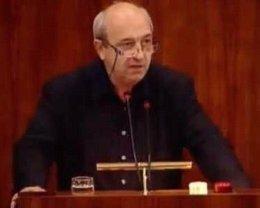 El exdiputado regional socialista Mario Salvatierra