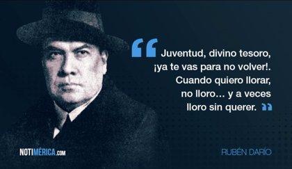 Las Citas Más Célebres De Rubén Darío