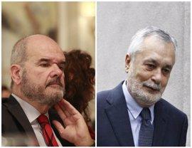 Anticorrupción se opone a que Chaves y Griñán sean investigados en la causa de los cursos de formación